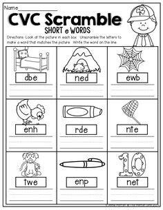 sentence pattern vc cvc worksheet new 724 cvc words in sentences worksheets