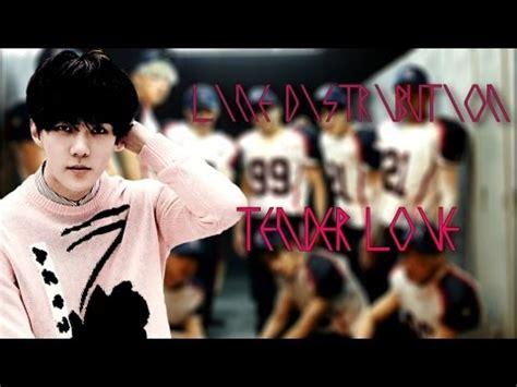 exo tender love exo tender love chinese version line distribution