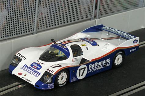 rothmans porsche 962 graymalkin custom scalextric cars
