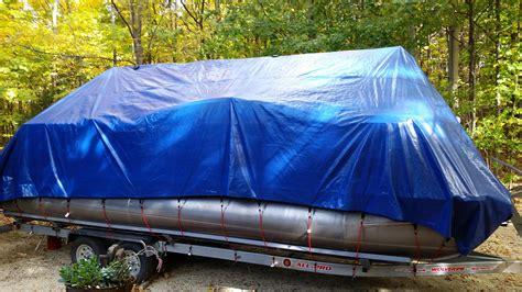 pontoon winter storage cover 20 pontoon boat winter cover