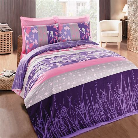 pink and purple bedding sets home furniture design