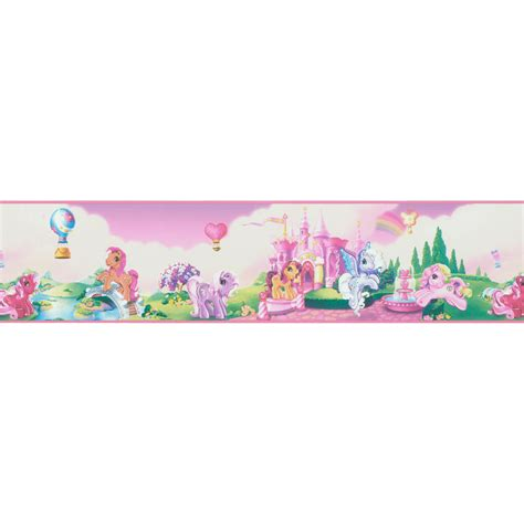 Kitchen Wall Covering Ideas shop brewster wallcovering 5 quot my little pony land self