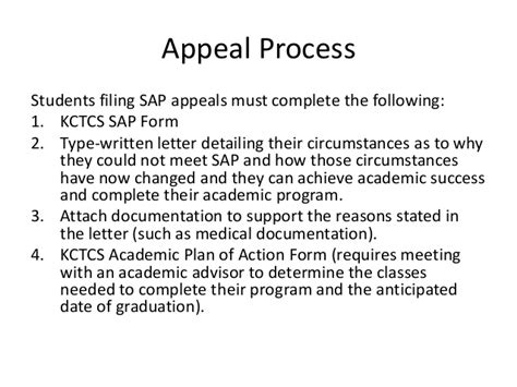 Financial Aid Appeal Letter Due To Maximum Time Frame Exle Standards Of Academic Progress Sap Presentation 11 16 2012