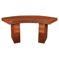what is a cocobolo desk rare cocobolo wood desk don shoemaker for sale at 1stdibs