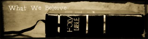 What We Believe what we believe rchurch