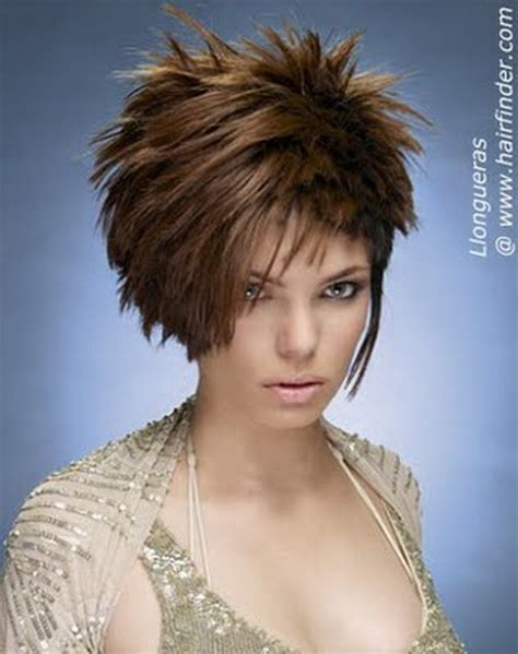 short spiked bobs short spiky hairstyles for women