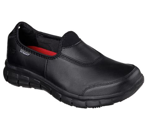 sure fit shoes buy skechers work relaxed fit sure tracknon slip shoes