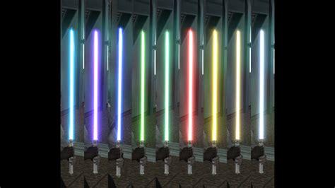kotor lightsaber colors steam workshop fixed lightsaber colors 2