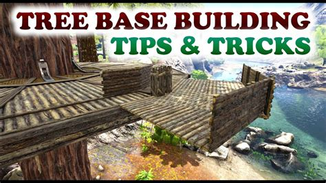 ark boat house tutorial ark tree base building tips tricks closed corners