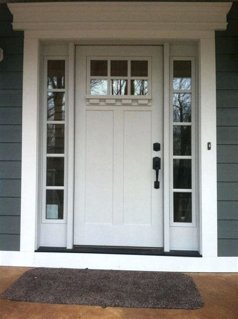 Door Styles Exterior Exterior Door Molding Styles The Glass Work Arts Crafts Style Beechridgecs
