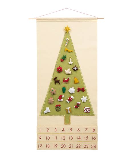 pattern for christmas tree advent calendar christmas advent calendar pattern wool felt christmas