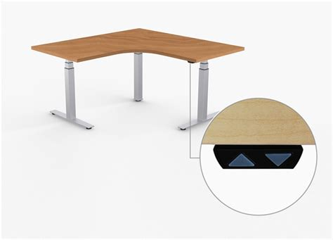 L Shaped Standing Desk L Shaped Adjustable Stand Up Desk Adjustable Height Desks