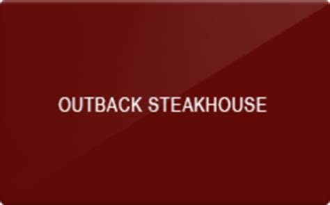 Where Can Outback Gift Cards Be Used - sell outback steakhouse gift cards raise