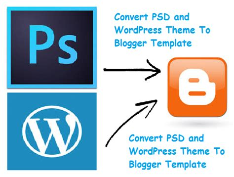 free convert psd and wordpress theme to blogger template