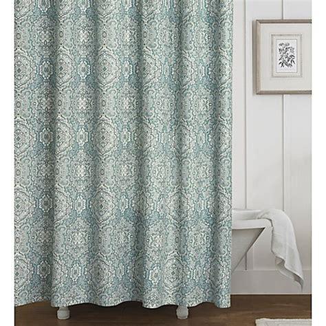 laura ashley blue curtains laura ashley 174 ardleigh shower curtain in blue bed bath