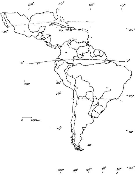south america blank physical map america blank map f