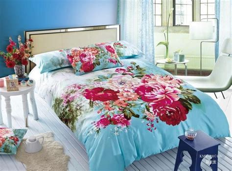 blue and pink bedding blue and pink floral bedding floral duvet cover bright