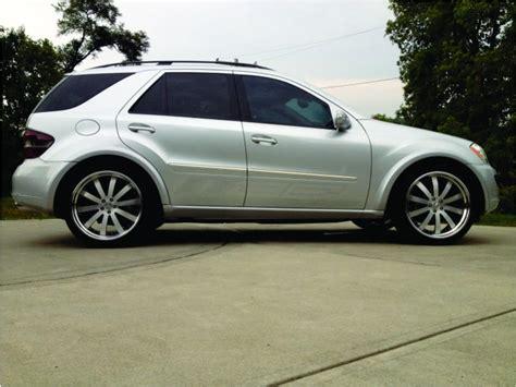 06 ml 350 w164 lowered with custom wheels. - Mercedes-Benz ... W Car Logo Name
