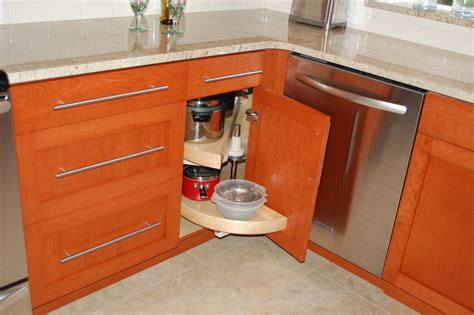 blind corner kitchen cabinet solutions the useful of blind corner cabinet pull out ideas tedx