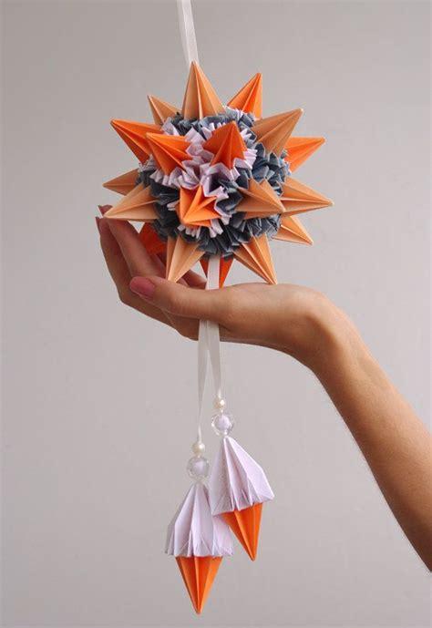 Origami Sea Urchin - origami paper kusudama sea urchin by waveoflight on
