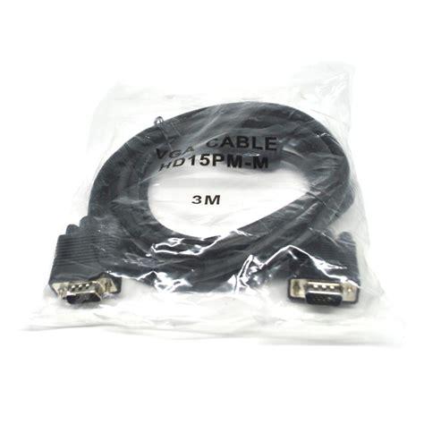 Kabel Vga To 3 kabel vga 15 pin ke 3 meter jakartanotebook