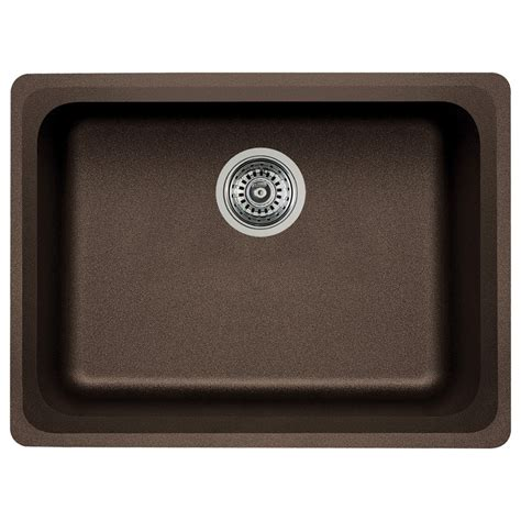 Kitchen Sinks Blanco Shop Blanco Vision Single Basin Undermount Granite Kitchen Sink At Lowes