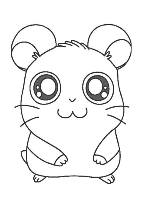 how to make coloring pages from photos hamtaro coloring page drawing coloring pinterest hamtaro