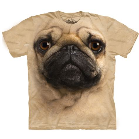 the mountain pug t shirt the mountain human t shirt pug baxterboo