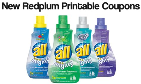 printable detergent coupons online redplum printable coupons all snuggle whole fruit