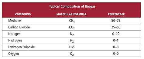 Biogas Zusammensetzung by Part 2 Biogas Mass Flow Measurement The Challenge
