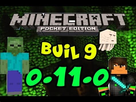minecraft pocket edition 0 9 0 apk minecraft pocket edition 0 11 0 build 9 apk