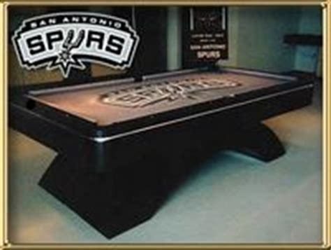 pool tables san antonio room gear san antonio spurs pool table