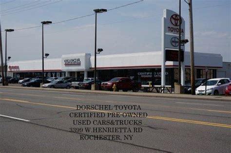 Toyota Dealer Ny Dorschel Toyota Rochester Ny 14623 Car Dealership And