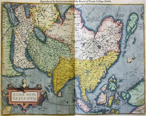 map of modern asia reading east map