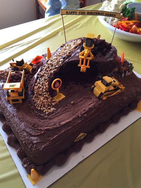 excavator cake ideas  pinterest construction cakes construction party cakes