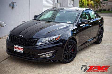 Black On Black Kia Optima Tag Motorsports Kia Optima Black Out