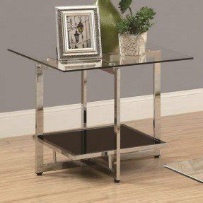 metal and glass end tables metal end tables with glass top foter