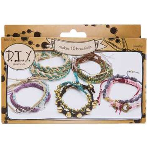 beginning jewelry kit braided bracelet diy jewelry kit hobby lobby 1083724