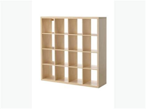 Ikea Expedit 4x4 by Ikea Kallax Expedit Birch 4x4 Unit Central Saanich