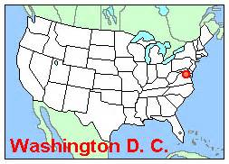 us map that shows washington dc washington dc state map quotes