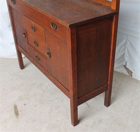 mission oak buffet bargain s antiques 187 archive mission oak