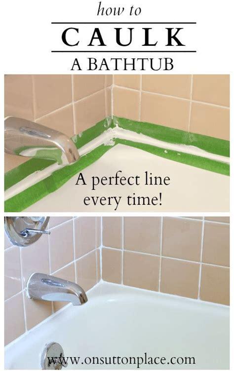 redo caulking around bathtub 17 best ideas about bathtub redo on pinterest small
