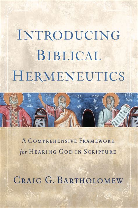 priority in biblical hermeneutics and theological method books introducing biblical hermeneutics a comprehensive
