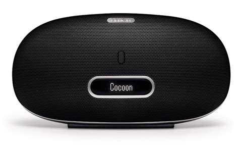 Cocoon Tubular Ipod Dock by Denon Dsd300bk Cocoon Portable Stereo Ipod