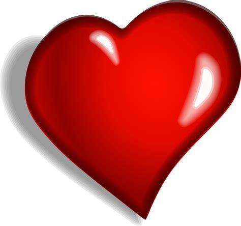 imagenes de corazones grandes y rojos vector gratis coraz 243 n rojo emocional imagen gratis en
