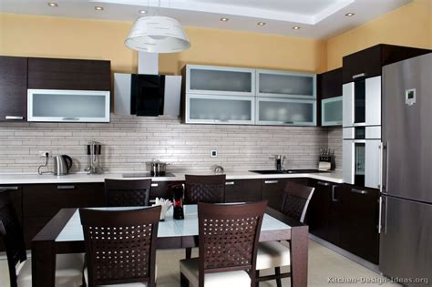 modern dark kitchen cabinets pictures of kitchens modern dark wood kitchens