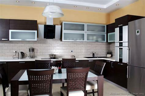 Pictures of Kitchens   Modern   Dark Wood Kitchens