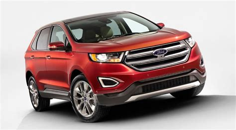 ford edge 2015 pictures of new european suv by