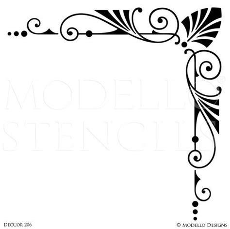 Architectural Designs by Corner Stencils Modello 174 Designs