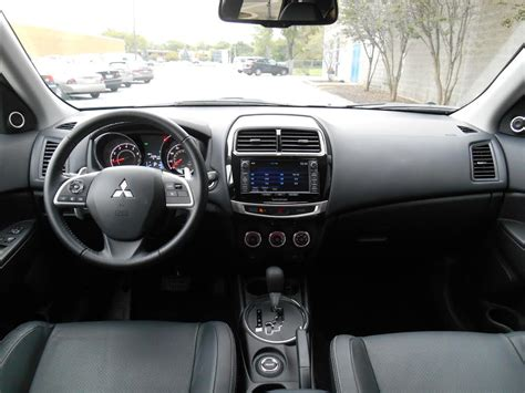 mitsubishi outlander 2015 interior test drive 2015 mitsubishi outlander sport se the daily